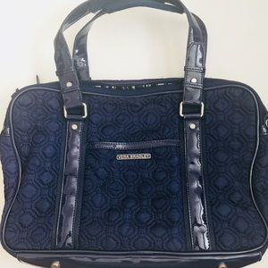 Vera Bradley Navy Attaché Laptop Bag